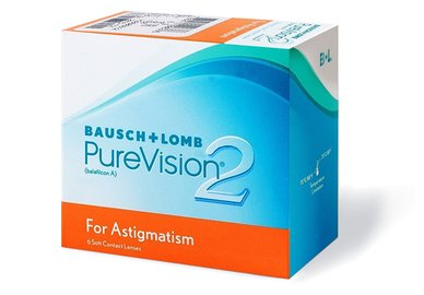 PureVision 2HD for Astigmatism (3 šošovky)