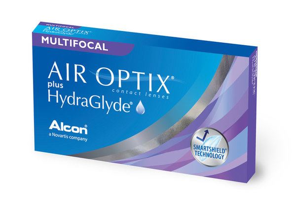 Air Optix plus HG Multifocal (3 šošovky)