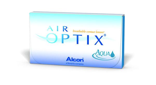 AIR Optix Aqua (6 šošoviek) - Poškodený obal