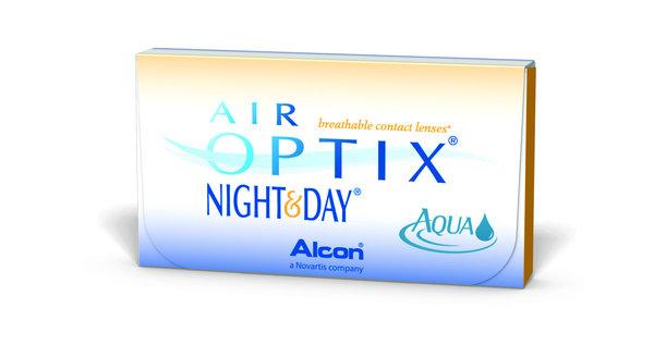 Air Optix Night & Day Aqua (6 šošoviek) - exp.11/2016