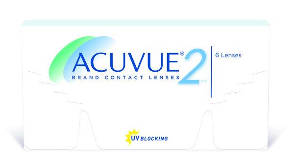 Acuvue 2 (6 šošoviek) - výpredaj exp. 2015