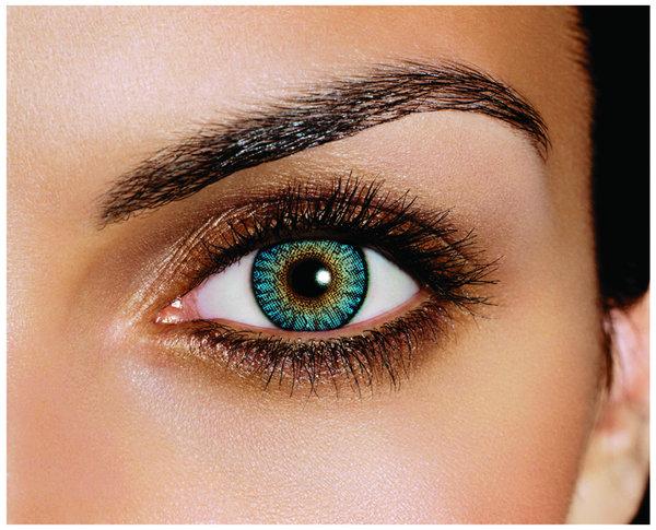 FreshLook ColorBlends - Turquoise (2 šošovky mesačné) - dioptrické