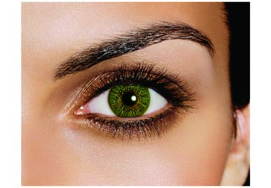 FreshLook Colors - Green (2 šošovky mesačné) - nedioptrické