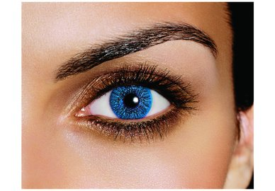FreshLook Colors - Sapphire (2 šošovky mesačné) - nedioptrické