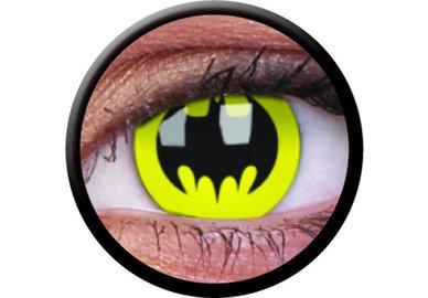 ColourVue Crazy šošovky - Bat Crusader (Batman) (2 ks trojmesačné) - nedioptrické