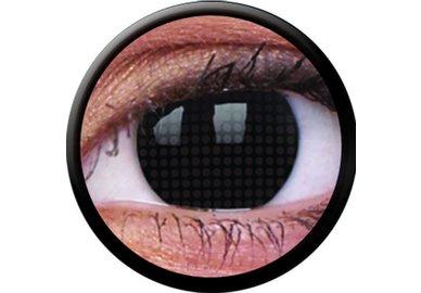 ColourVue Crazy šošovky - Black Screen (2 ks trojmesačné) - nedioptrické