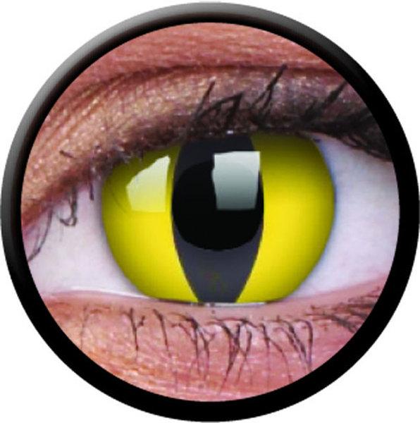 ColourVue Crazy šošovky - Cat Eye (2 ks trojmesačné) - nedioptrické