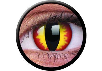 ColourVue Crazy šošovky - Dragon Eyes (2 ks trojmesačné) - dioptrické