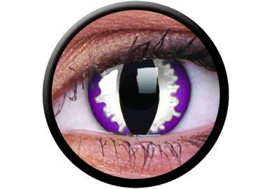ColourVue Crazy šošovky - Purple Dragon (2 ks trojmesačné) - nedioptrické
