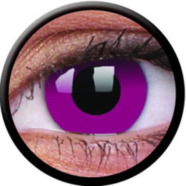 ColourVue Crazy šošovky - Purple (2 ks trojmesačné) - nedioptrické