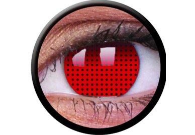ColourVue Crazy šošovky - Red Screen (2 ks trojmesačné) - nedioptrické