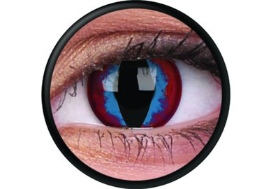ColourVue Crazy šošovky - Dream Slayer (2 ks ročné) - nedioptrické