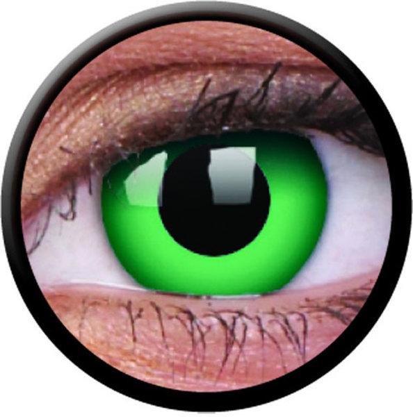 ColourVue Crazy šošovky - Emerald (2 ks ročné) - nedioptrické