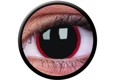 ColourVue Crazy šošovky - Hellraiser (2 ks ročné) - nedioptrické