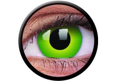 ColourVue Crazy šošovky - Hulk Green (2 ks ročné) - nedioptrické