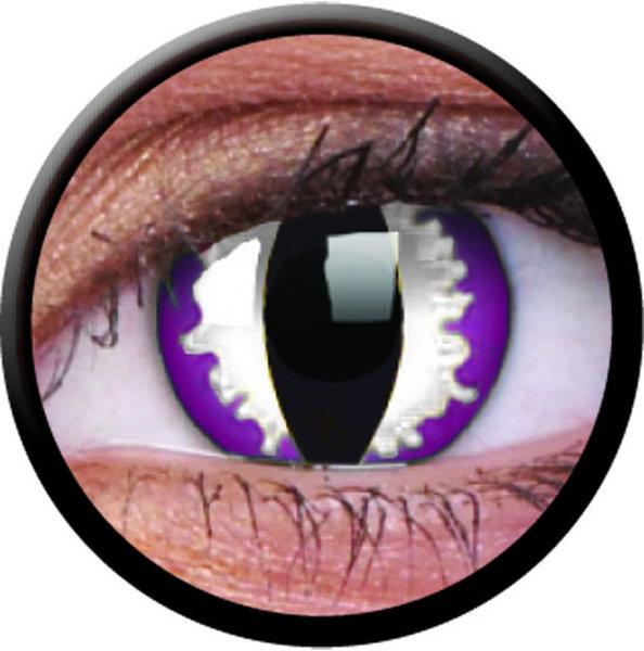 ColourVue Crazy šošovky - Purple Dragon (2 ks ročné) - nedioptrické