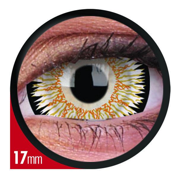 ColourVue Crazy šošovky 17 mm - Orbitron (2 ks ročné ) - nedioptrické