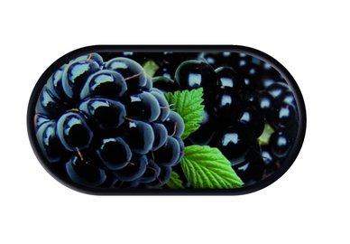 Púzdro so zrkadielkom motív Ovocie - Černice