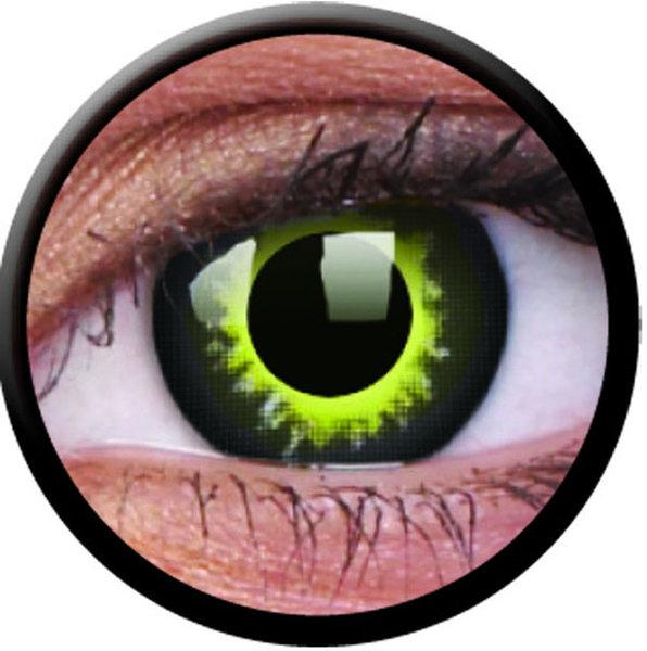 ColourVue Crazy šošovky - Eclipse (2 ks ročné) - nedioptrické - exp.04/2020