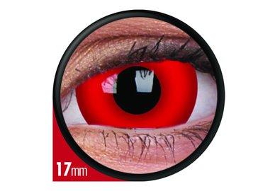ColourVue Crazy šošovky 17 mm - Dare Devil (2 ks trojmesačné ) - nedioptrické