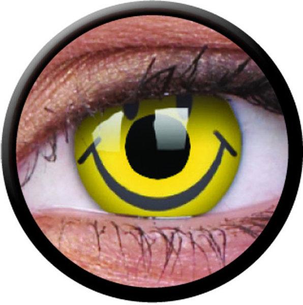 ColourVue Crazy šošovky - Smiley (2 ks trojmesačné) - nedioptrické