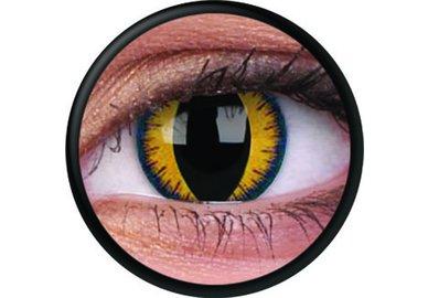 ColourVue Crazy šošovky - Wolf Moon (2 ks trojmesačné) - nedioptrické