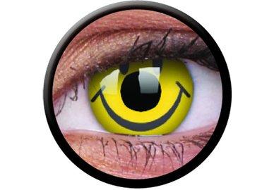 ColourVue Crazy šošovky - Smiley (2 ks ročné) - nedioptrické