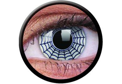ColourVue Crazy šošovky - Spider (2 ks ročné) - nedioptrické