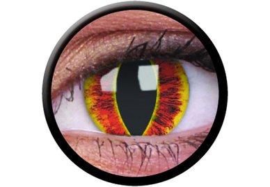 ColourVue Crazy šošovky - Saurons Eye (2 ks ročné) - nedioptrické - exp.02/22