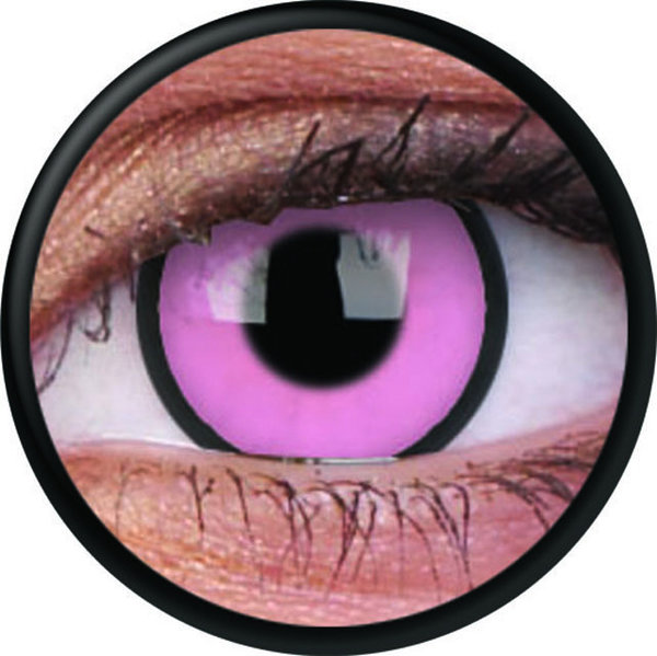 ColourVue Crazy šošovky - Hot Pink (2 ks trojmesačné) - nedioptrické - exp.12/2019