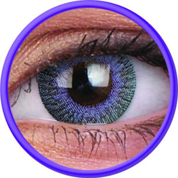 ColourVue Fusion - Grey Violet (2 šošovky trojmesačné) - dioptrické - exp.02/2020