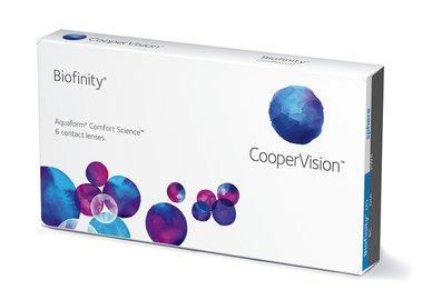 Biofinity (6 šošoviek) - Výpredaj - EXP. 09/2021