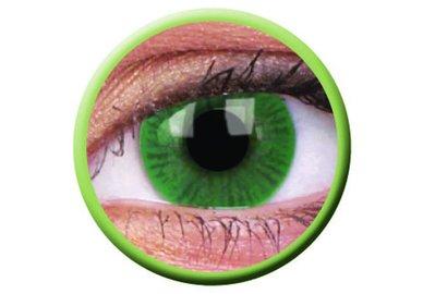 ColourVue Basic - Green (2 šošovky trojmesačné) - nedioptrické