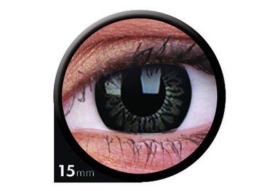 ColourVue Big Eyes - Awesome black (2 šošovky trojmesačné) - dioptrické - dopredaj