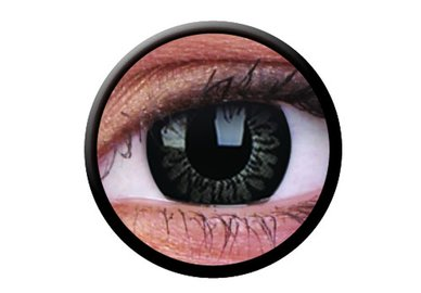 ColourVue Big Eyes - Dolly Black (2 šošovky trojmesačné) - nedioptrické-dopredaj; výroba ukončená