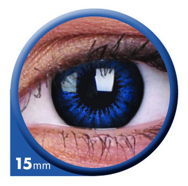 ColourVue Big Eyes - Cool Blue (2 šošovky trojmesačné) - nedioptrické
