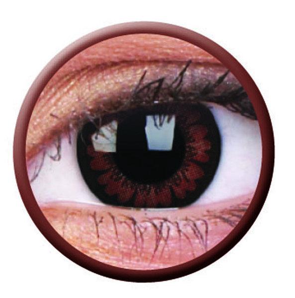 ColourVue Big Eyes - Pretty Hazel (2 šošovky trojmesačné) - dioptrické