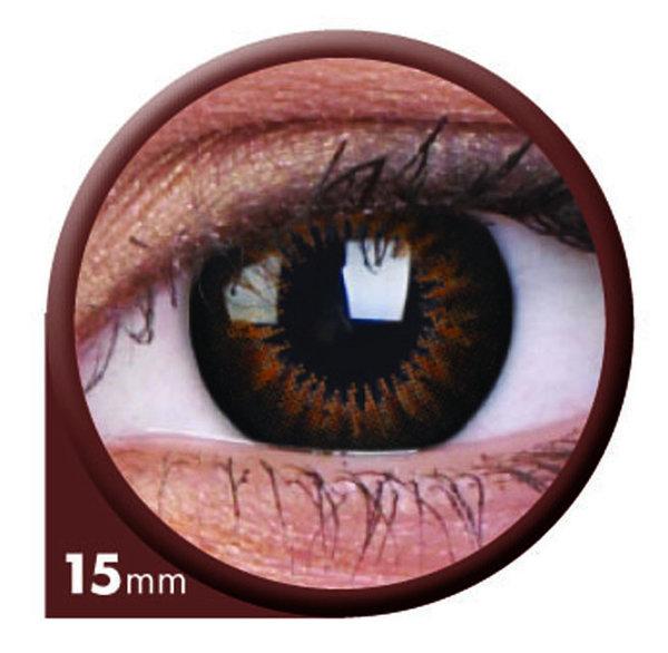 ColourVue Big Eyes - Sweet Honey (2 šošovky trojmesačné) - dioptrické