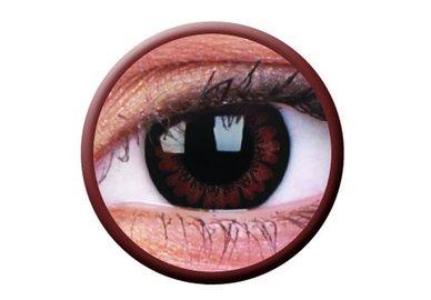 ColourVue Big Eyes - Pretty Hazel (2 šošovky trojmesačné) - nedioptrické