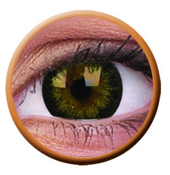 ColourVue Big Eyes - Georgeous Brown (2 šošovky trojmesačné) - dioptrické - exp.04/2020