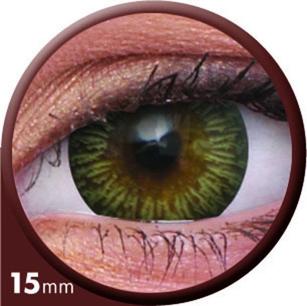 ColourVue Big Eyes - Enchanter Brown (2 šošovky trojmesačné) - dioptrické - exp.12/2020