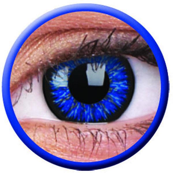 ColourVue Glamour - Blue (2 šošovky trojmesačné) - dioptrické exp.05/21