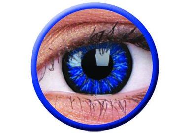 ColourVue Glamour - Blue (2 šošovky trojmesačné) - nedioptrické