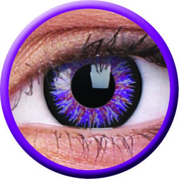 ColourVue Glamour - Violet (2 šošovky trojmesačné) - dioptrické