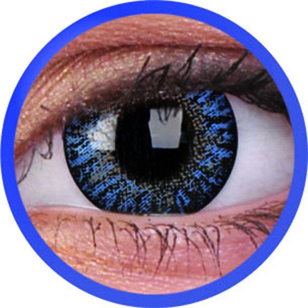 ColourVue One-Day dioptrické (10ks, jednodenné) - Blue