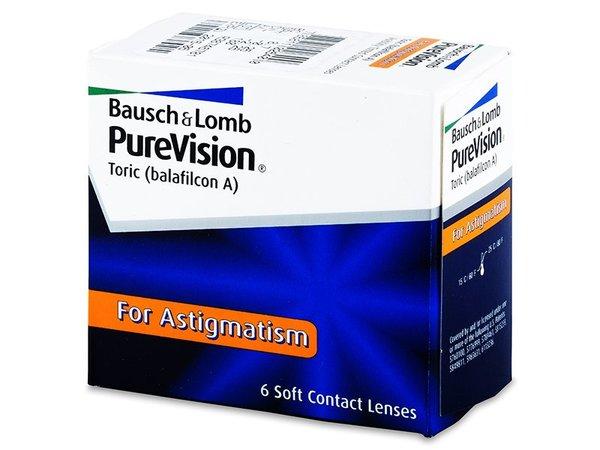 PureVision Toric (3 šošovky)