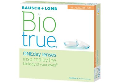 Biotrue ONEday for Astigmatism (90 šošoviek)