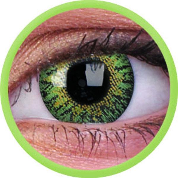 ColourVue One-Day dioptrické (10ks, jednodenné) - Green dioptrie -1,00 - exp.10/2020
