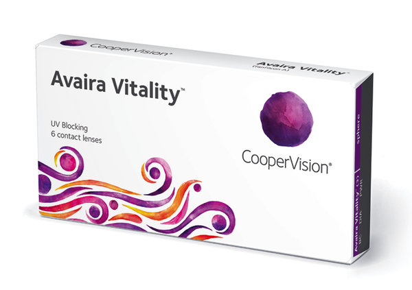 Avaira Vitality (6 šošoviek) - dpt.-3,50 exp.06/2021
