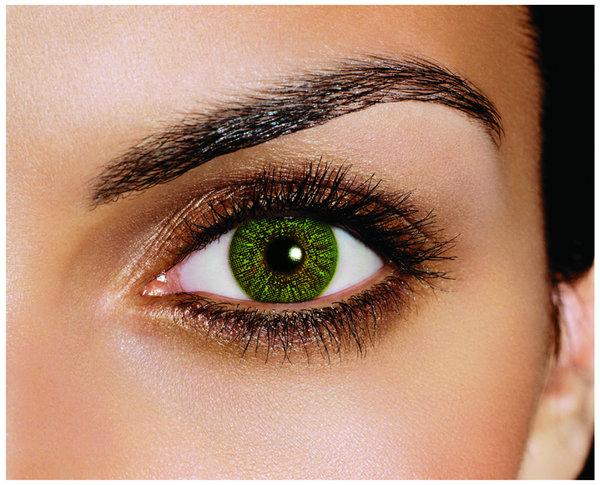 FreshLook Colors - Green (2 šošovky mesačné) - dioptrické - Výpredaj - Exp. 10/2021